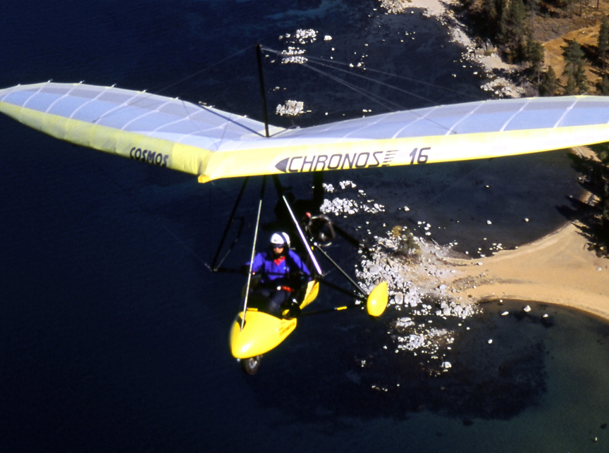 Video featuring hang gliding lessons above lake tahoe and other lake tahoe activities