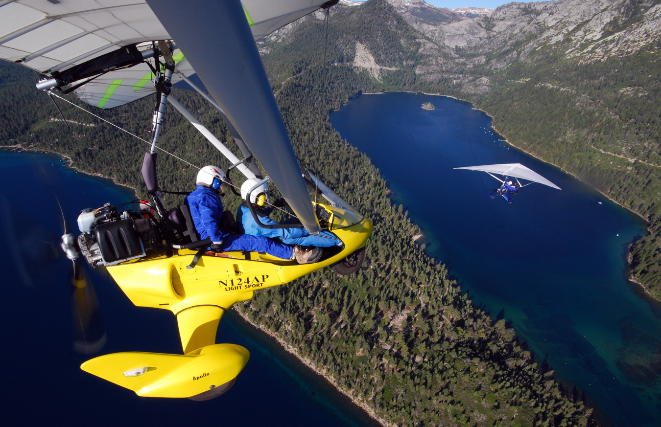 Fly Together above Emerald Bay, Lake Tahoe