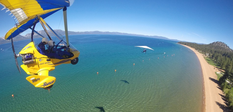 Hang Gliding Tahoe Fly Two