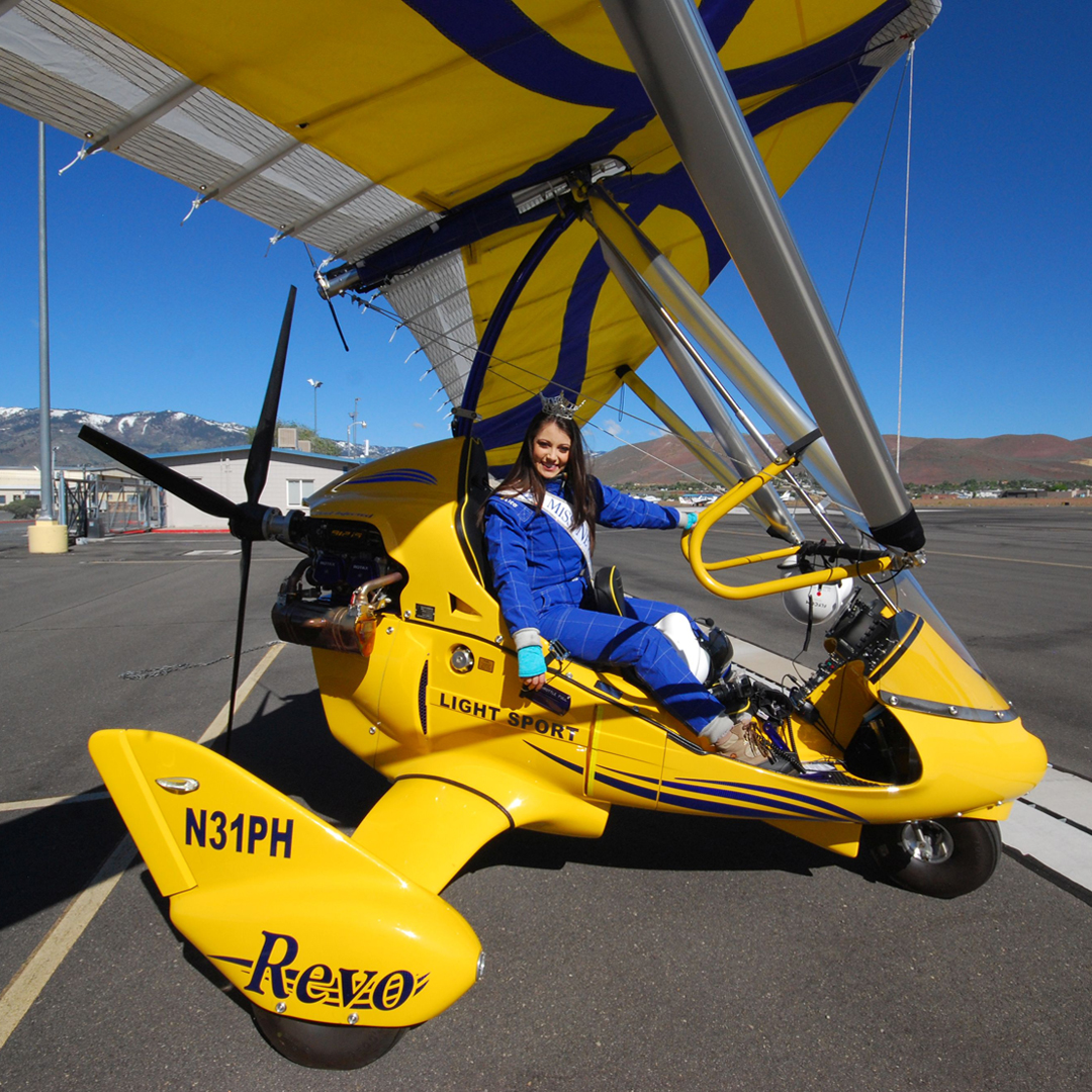 Hang gliding Tahoe with Miss Nevada 2016