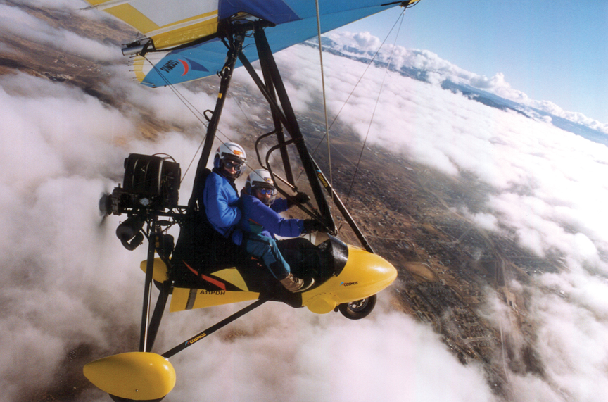 Above The Clouds In A Light-sport Trike