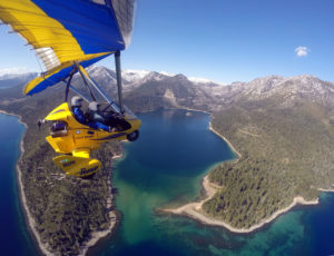 Climates for hang gliding Lake Tahoe