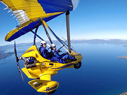 Hang Gliding Tahoe Video