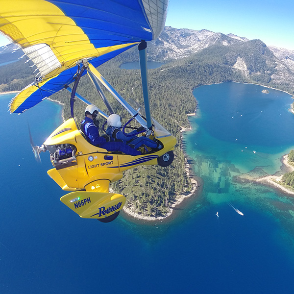 Hang Gliding Tahoe Gift Certificate