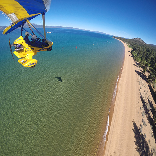 Hang Gliding Tahoe Gift Certificate Cross Country