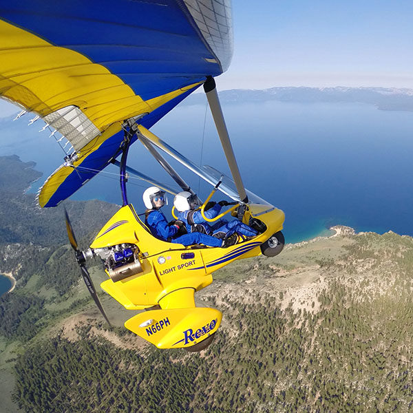 Hang Gliding Tahoe Gift Certificate Video