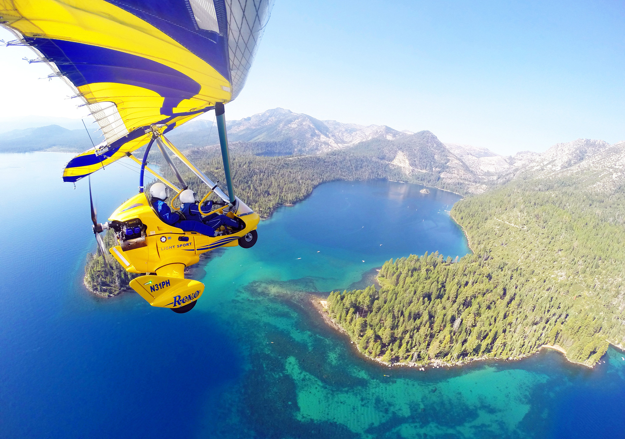 Hang Gliding Tahoe the thing to do in Lake Tahoe