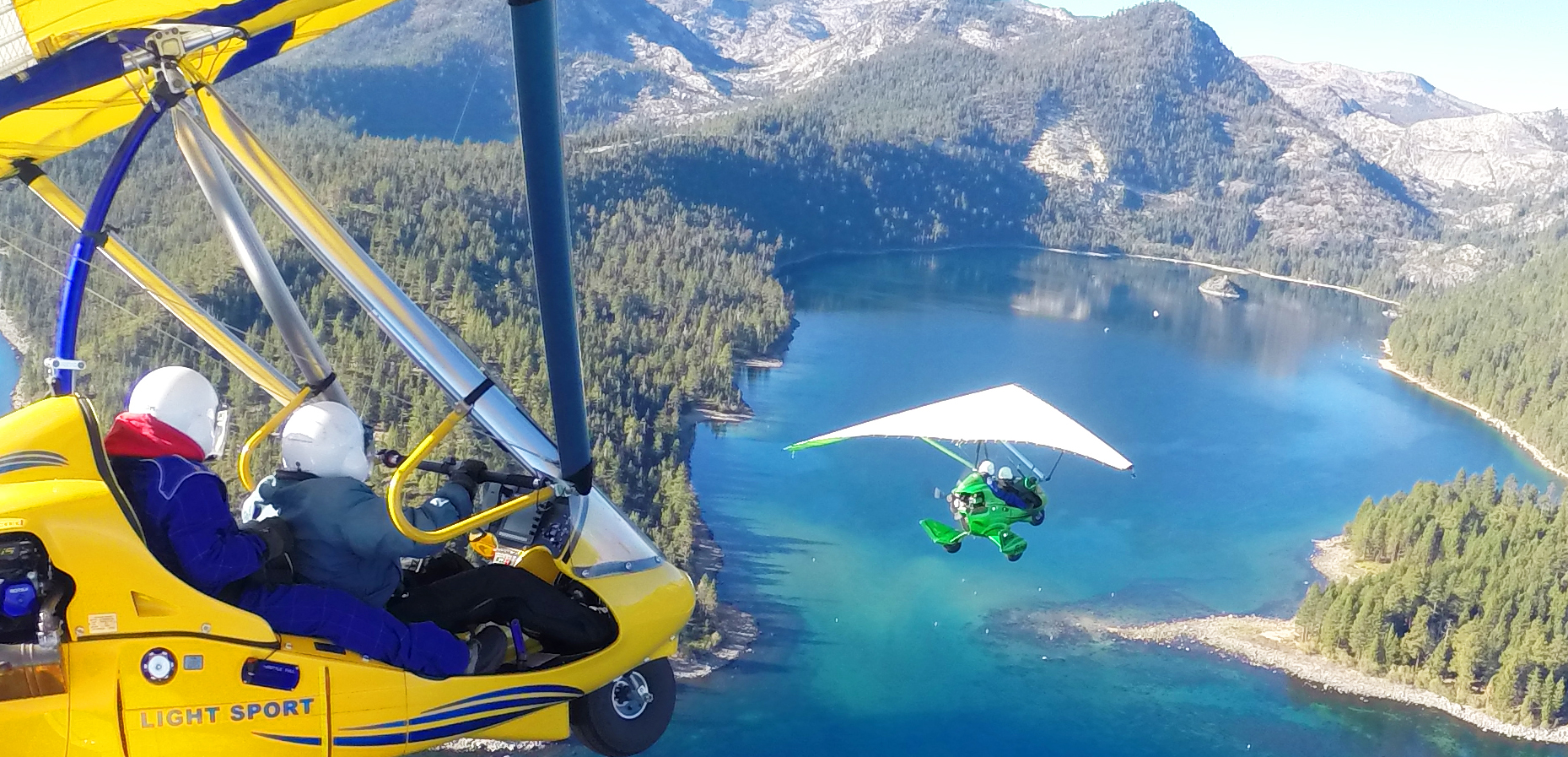 Hang Gliding Tahoe, Fly Together